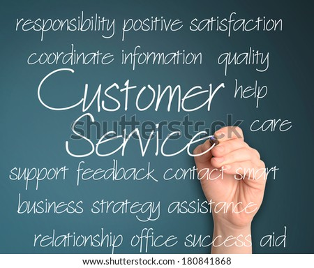 customer service concept  - stock photo
