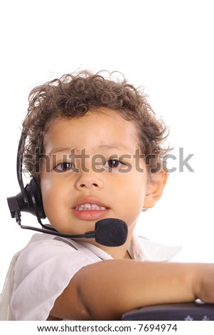 customer service kid