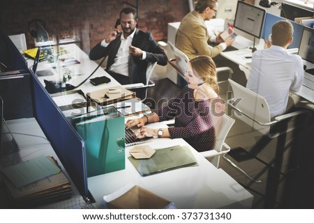 Customer Service Team Support Care Concept - stock photo