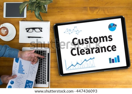 how to pay customs clearance