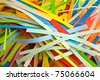 cut coloured paper as background - stock photo