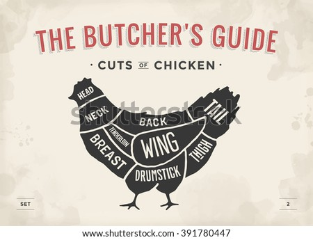 Chicken Cuts Stock Images, Royalty-Free Images & Vectors ...