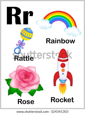 Letter R Printable Stock Photos, Royalty-Free Images  Vectors