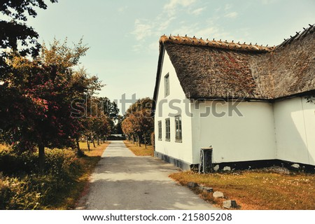 Cute and simple european house in the countryside. Hotel in Dragor, Copenhagen, Denmark.