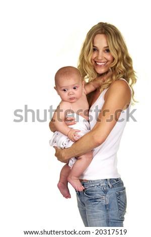 Cute Baby Boy - stock photo