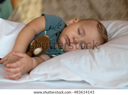 Toddler Sleeping Stock Images Royalty Free Images