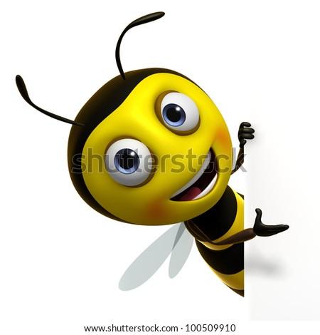 Cute Bee Logo Cute Bee