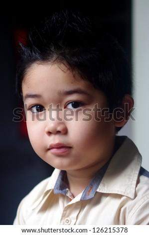 Cute Boy - stock photo