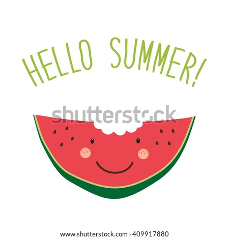 Isolated Icon Raw Watermelon Name Stock Vector 374379391 - Shutterstock