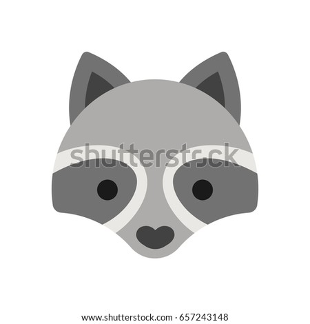 Mapache Stock Images, Royalty-Free Images & Vectors ... Raccoon Face Illustration