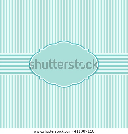 Cute frame design and card for holiday - stock photo