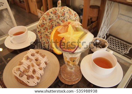 Cute Homemade Japanese Style Afternoon Tea Set