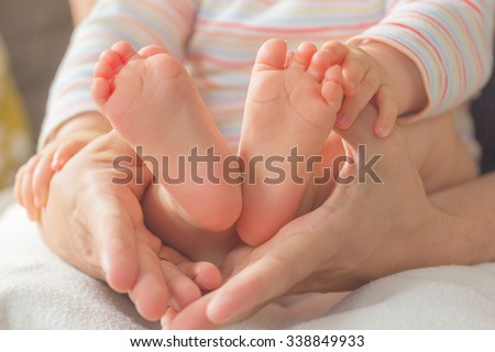 cute little baby feet