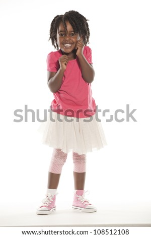 Cute Little Girl - stock photo