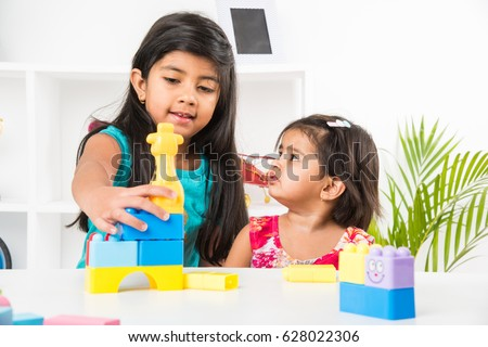 Asian girls around a table