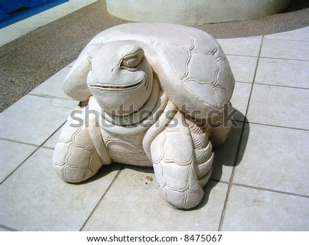 cute Little Turtle - stock photo