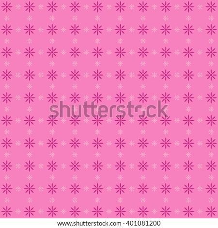 Cute pink pattern. - stock photo