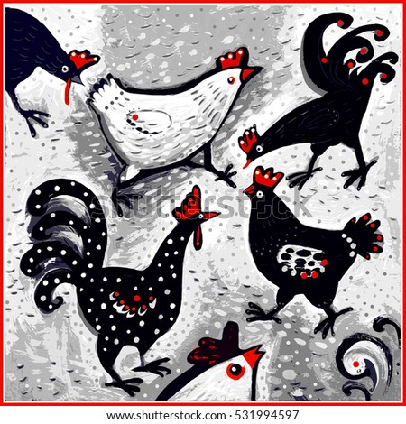 Funky Chicken Stock Images, Royalty-Free Images & Vectors ...