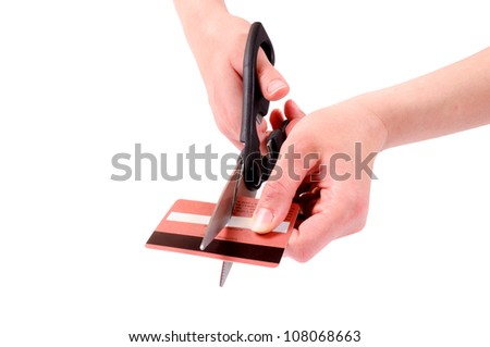 Cuting the credit card