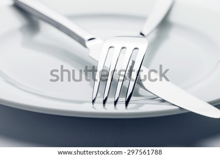 cutlery - stock photo