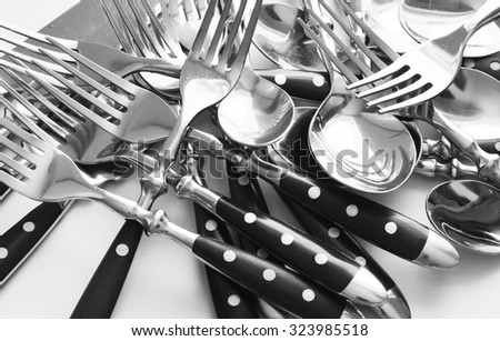 Cutlery and knife