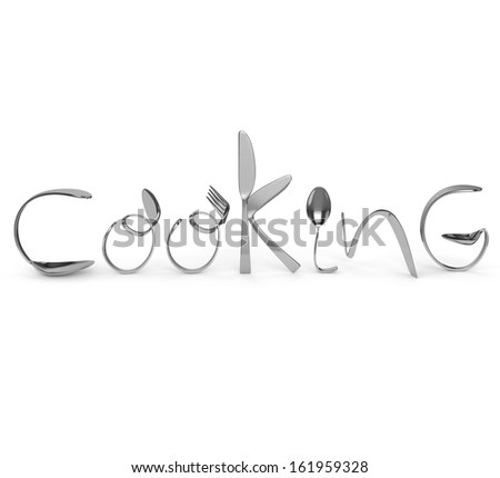 Cutlery, Cooking - stock photo