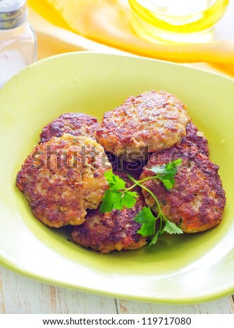 cutlets - stock photo