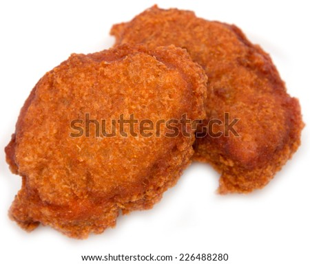 cutlets of fish eggs