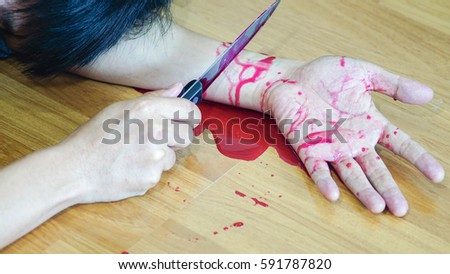 Cut Wrist Stock Images, Royalty-Free Images & Vectors ...