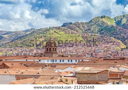 Cuzco, Peru - general view - stock photo