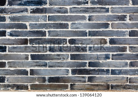 cyan brick wall background