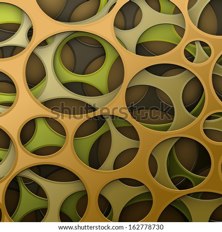 Cyber camouflage abstract background - stock photo