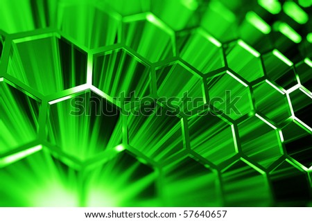 Cyberspace - stock photo