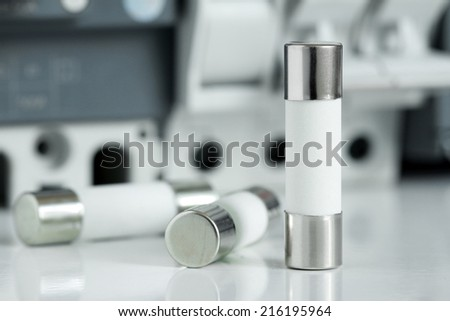 Cylinder Control Fuses - stock photo