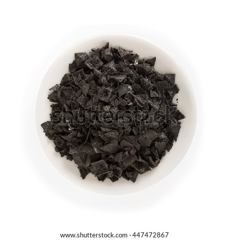 Cypriot black charcoal salt