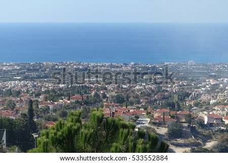 Cyprus. Cyprus landscape.  Nice Cyprus view.