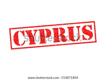 CYPRUS Rubber Stamp over a white background.