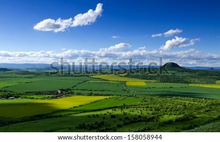 CZECH landscape - stock photo