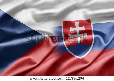 Czech Republic and Slovakia - stock photo