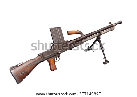 Czechoslovak light machine gun ZB vz. 26 was a developed in the 1920s. It would see its major use during World War II.
