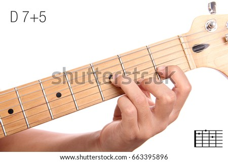 D 75 Advanced Guitar Keys Series Closeup Stock Photo (Royalty Free ...