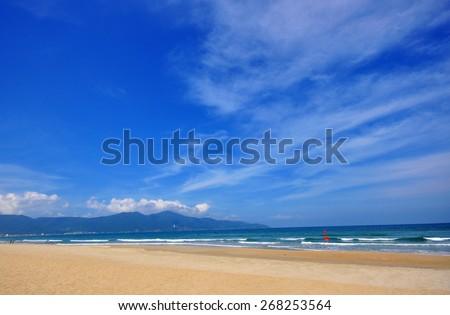 Da Nang beach, Vietnam