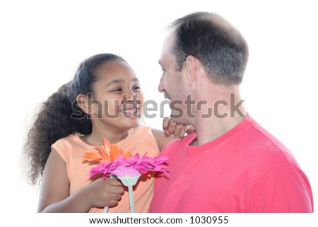 Daddy's Love - stock photo
