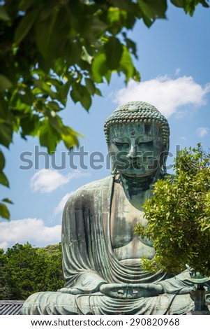 Daibutsu, The Great Buddha with Tree View