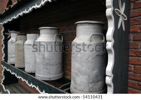 Dairy Canisters