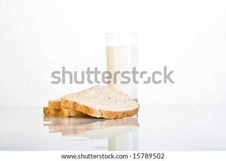 dairy products on the table