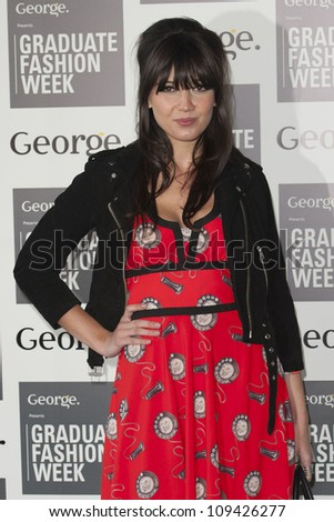 Daisy Lowe arriving for the Graduate Fashion Week Awards, Earls Court London. 13/06/2012 Picture by: Simon Burchell / Featureflash