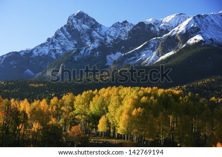 Dallas Divide, Uncompahgre National Forest, Colorado, USA - stock photo