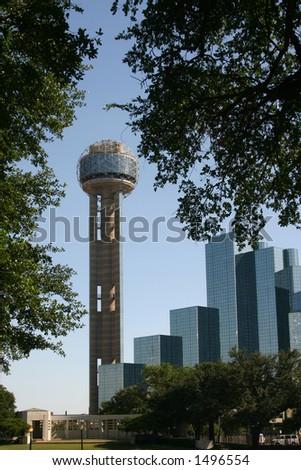 Dallas downtown - stock photo