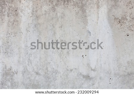 damaged cement wall